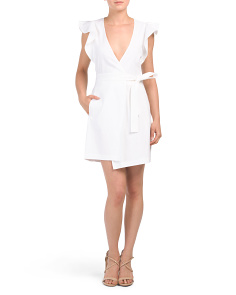 Linen Blend Sidelle Dress