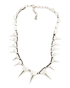 Handmade In Spain Leather Vicious Necklace