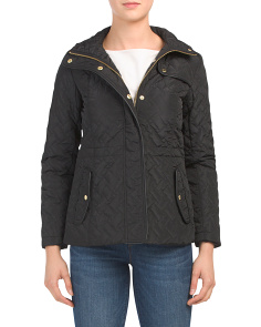Petite Signature Quilted Jacket