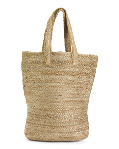 Beachy Straw Tote