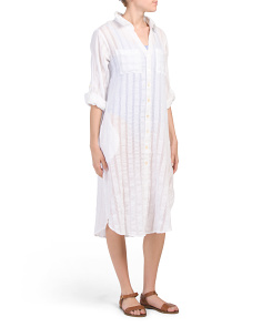 Maxi Button Down Cover-up