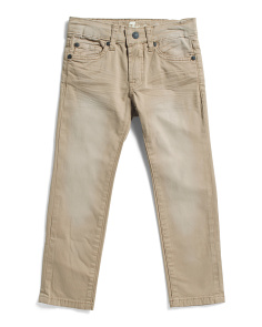 Little Boys Slimmy Khaki Pants