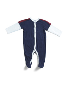 Newborn Boys Twofer Footie Onesie