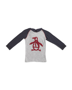 Little Boys Long Sleeve Space Dye Hoodie