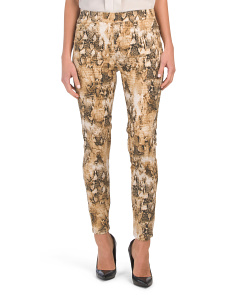 Snake Print Lucy Pull On Leggings