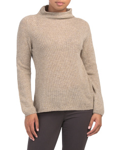 Made In Italy Ribbed Cashmere Sweater
