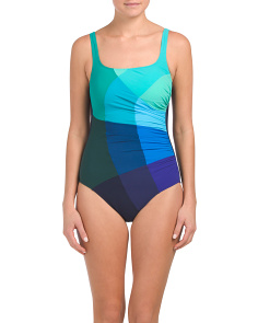 D Cup Mondrian One-piece Swimsuit