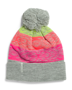 Meadow Color Block Beanie