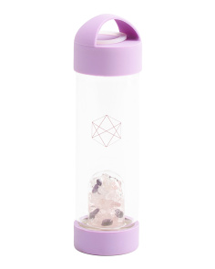 Wellness Crystals Water Bottle