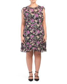Plus Floral Lora Dress