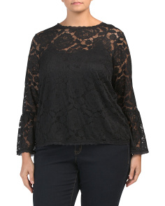 Plus Lace Vivian Blouse