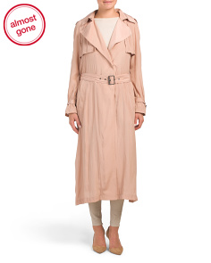 Long Wrap Drape Coat