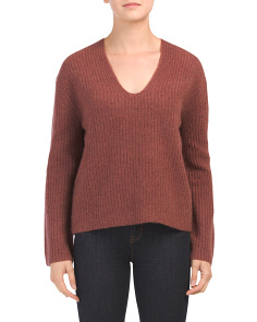 Cashmere Lisette Stitch Sweater