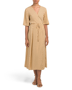 Lula Dot Rivera Midi Dress
