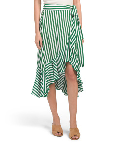 Zeus Stripe Skirt