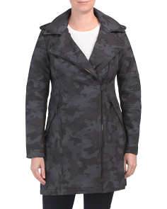 Military Asymmetrical Zip Softshell Jacket