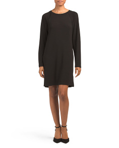 Crew Neck Raglan Sleeve Dress