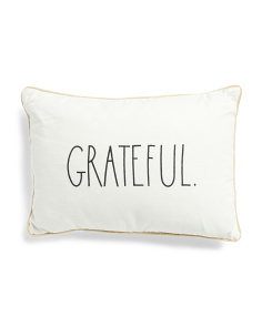 14x20  Grateful Pillow