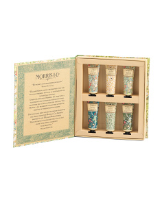 Set Of 6 Library Of Prints Hand Creams