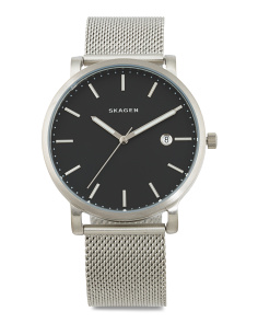 Men's Hagen Mesh Strap Watch