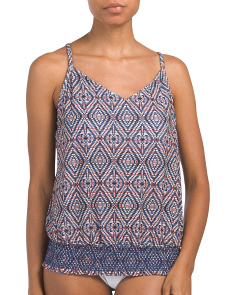 Dream Weave Justina Tankini Swim Top