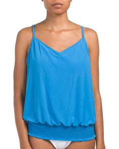 Justina Waist Band Tankini Top