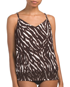 On Safari Justina Tankini Top