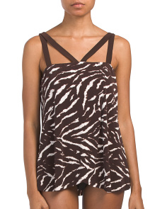 On Safari Michelle Tankini Top