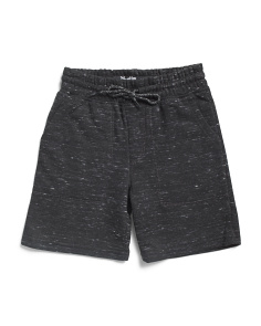 Little Boys French Terry Jogger Shorts
