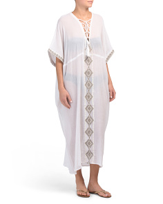 Isabell Long Cover-up Caftan
