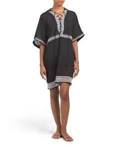Isabell Short Cover-up Caftan