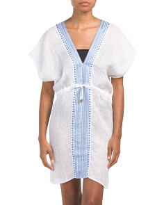 Linen Zoe Cover-up Tunic