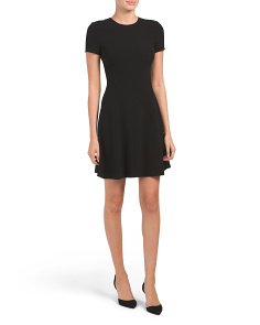 Modern Seamed Shift Dress