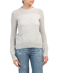 Yorke Cashmere Crew Neck Sweater
