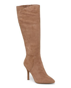 High Shaft Suede Boots
