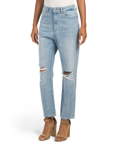 Susie High Rise Tapered Straight Leg Jeans