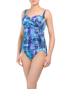 Python Averi One-piece Swimsuit