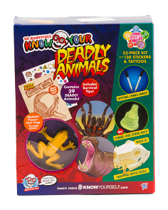 Know Your Deadly Animals Activity Kit