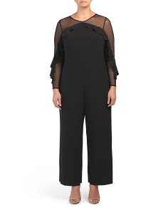 Plus Illusion Jumpsuit