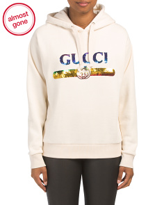Made In Italy Sweatshirt With Sequins