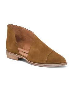 Made In Spain Royale Suede Flats
