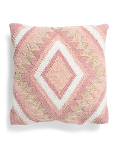 20x20 Woven Metallic Pillow