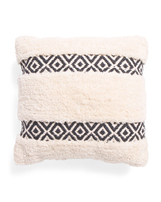 20x20 Fringe Stripe Pillow
