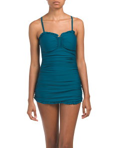 Tummy Control Swim Dress