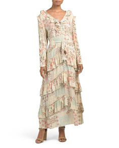 Juniors Rising Sun Maxi Dress
