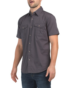 Micheal Solid Short Sleeve Shirt