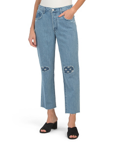 Wynne High Rise Crop Straight Pants