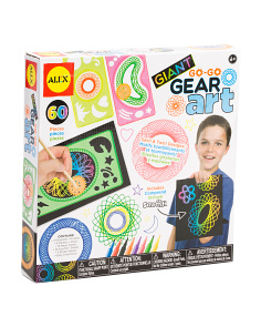 Giant Go Go Gear Art Set