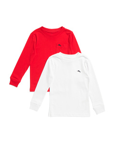 Little Boys 2pk Long Sleeve Tees