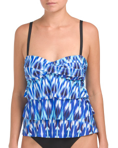 Cascade Ikat One-piece Swimsuit